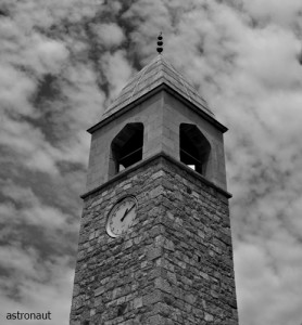 The clock tower
